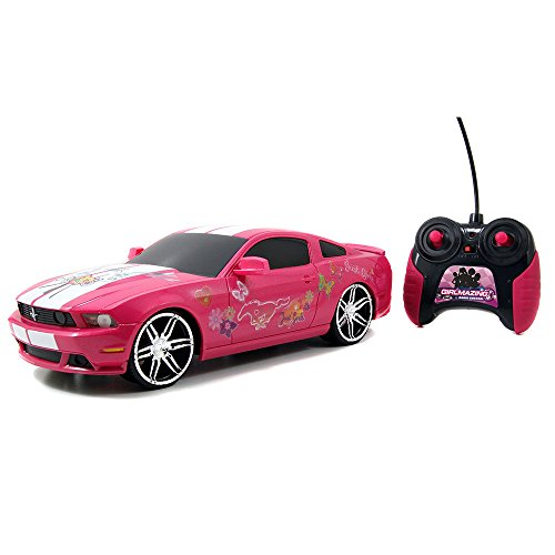 Jada Toys Girlmazing 1:16 R/C Assortment 2012 Ford Mustang Boss 302- M. Vehicle, Hot Pink