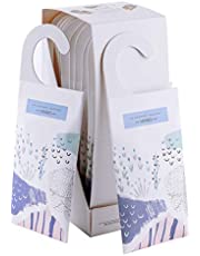 MYARO Large 12 Packs Lavender Scented Sachets for Drawer and Closet with Hanger (Lavender)