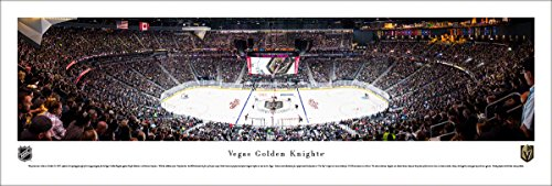 Vegas Golden Knights -1st Game at T-Mobile Arena - Unframed Blakeway Panoramas NHL Poster
