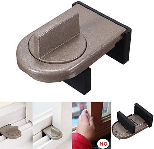 cerradura gris puerta corredera de seguridad de bloqueo y tapa de ...