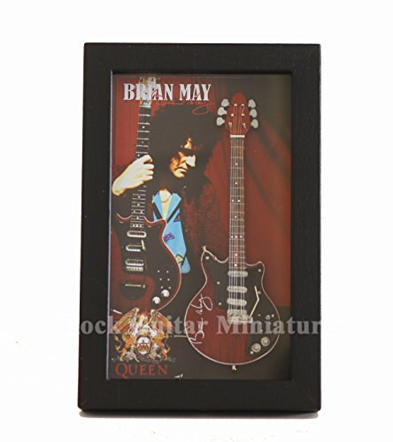 Brian May Replica (RGM8818 Brian May Queen Miniature Guitar Collection in Shadowbox Frame)
