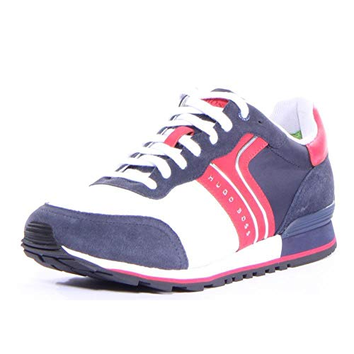 fb6750fb8d46 Hugo Boss Parkour Runn nymx Shoes 9 M US Men Open Blue