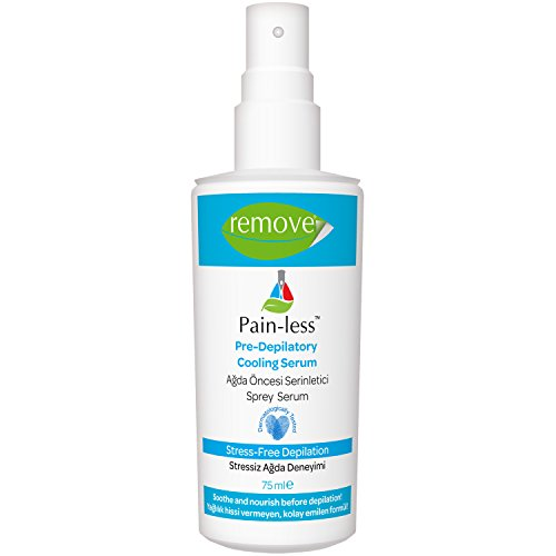 Remove Painless Pre-Depilator Before Wax Cooling Serum Spray 75ml by Remove