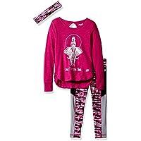 Marika Girls' 3 Piece Knit Top, Legging and Headband Set