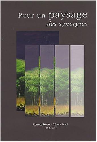 Livres Pour un paysage de synergies epub, pdf
