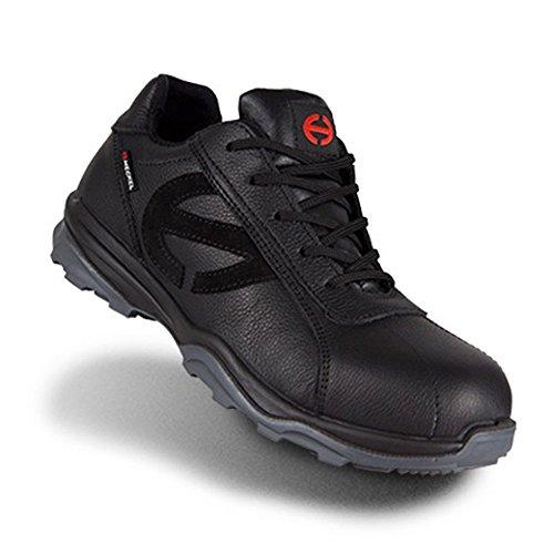 100 Moderne Noir SRC Sécurité Métal Libre Heckel S3 LOW Chaussures 400 R de Run Travail Chaussure Ixq86Pv