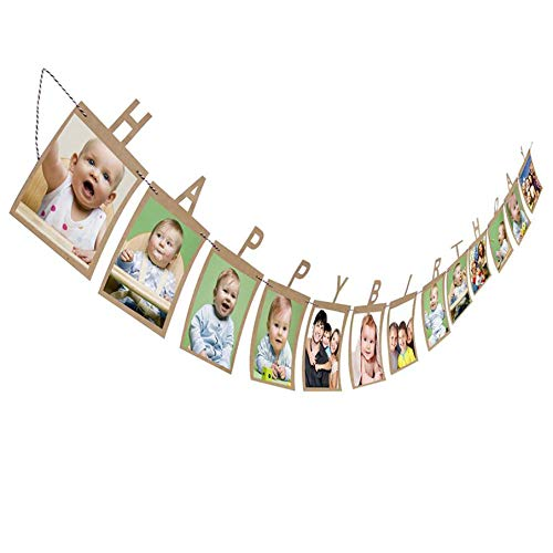 Taka Co 12 Month Baby Photo Frame Hanging