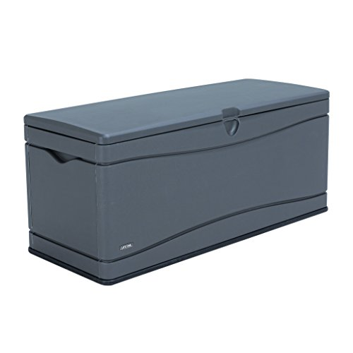 - Lifetime 60298 Heavy Duty Outdoor Storage Deck Box, 130 Gallon, Gray