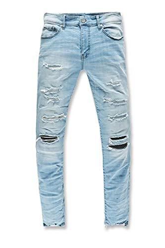 Jordan Craig Men's Sean Fit Jean Ice Blue jm3266-ice Blue (Size 44/32)