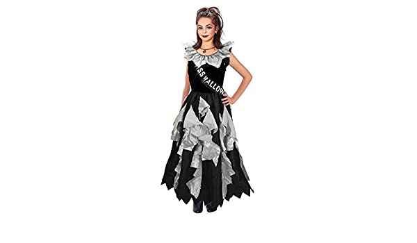 Amazon.com: Girls Zombie Prom Queen Costume for Halloween Living Dead Fancy Dress Outfit Child 11-13yrs by Partypackage Ltd: Toys & Games