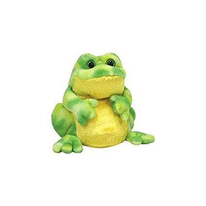c6b733552ab Amazon.com  Ty Beanie Babies 2.0 Jumps frog  Toys   Games