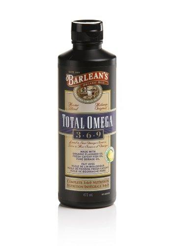 Barlean's Organic Oils Total Omega 3-6-9, 16-Ounce Bottle