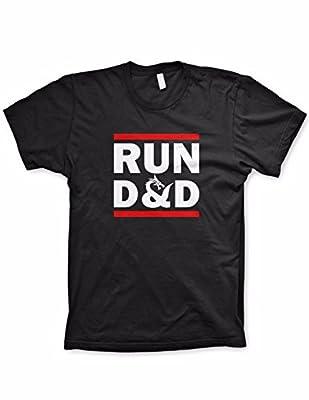 Run D&D shirt funny tshirts board game dice shirt