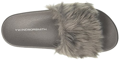 Ash Smith Gris Mujer Isela Chanclas para Ash Windsor Aqxw0TdPn