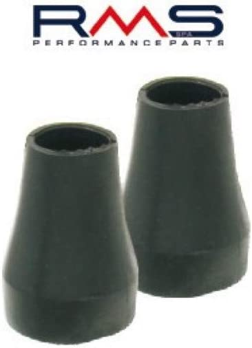 Black All Stand Feet Rubber for Vespa PX PK T5/Cosa /Ø 22/mm