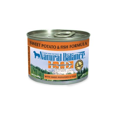 Limited Ingredient Diets Sweet Potato and Fish Formula Wet Dog Food Size: 6-oz, case of 12