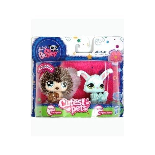 (Littlest Pet Shop Cutest Pets Porcupine & Angora Bunny #2423 & #2424 Action Figure)