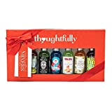 The Global Cocktail Mixers Gift Set by Thoughtfully | Contains 7 Unique Drink Flavours Including Piña Colada, Moscow Mule, Margarita, Blue Hawaiian and Many More