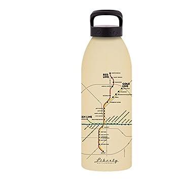 Liberty Bottleworks Atlanta Mass Transit Aluminum Water Bottle Made in USA