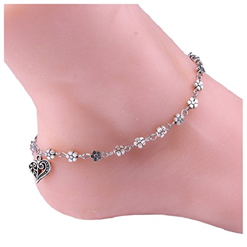Hot 1 PC Alloy Metal Chain Ankle Bracelet Barefoot Sandal Beach Foot Anklet Jewelry