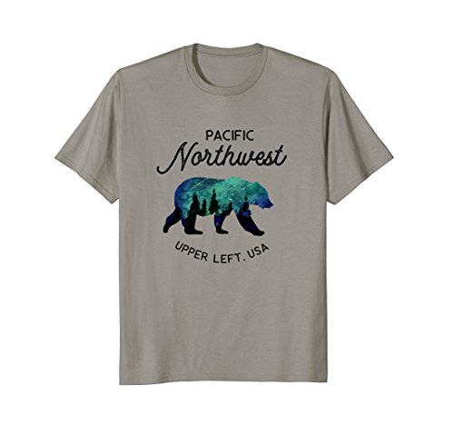 Hiking Shirt - Pacific Northwest Forest Bear