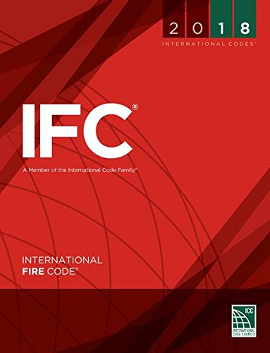 2018 International Fire Code (International Code Council Series) by ICC (distributed by Cengage Learning)