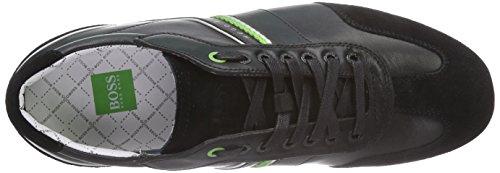 BOSS GREEN Victoire Fiction 10185277 01, Sneakers da Uomo Nero (Black 001)