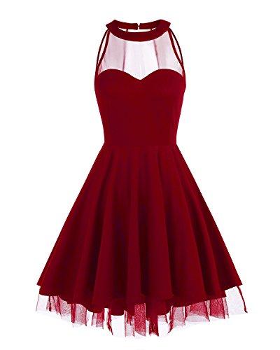 halter tulle dress - 9