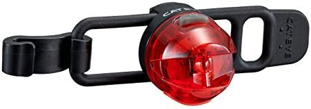 One Size Color Negro//Rojo CatEye Loop 2/G SL ld140grc Trasera para Bicicleta