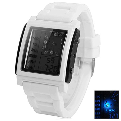 Buy TOPCHANCES HeiQi D3009 Digital Wrist Watch for Both Men and Women (White)