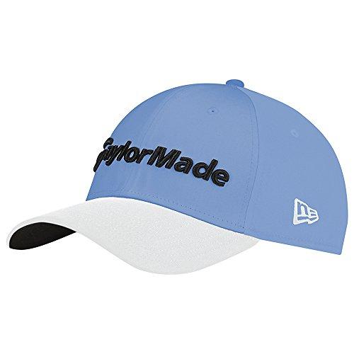 TaylorMade Golf 2017 lifestyle new era 39thirty hat sky/blue/white l/xl