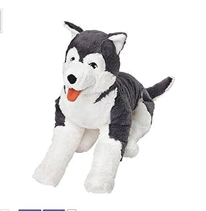Amazon Com Ikea Livlig Soft Toy Husky Dog Siberian Stuffed Alaskan