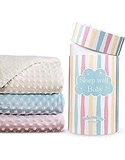 Flauschige Babydecke für Junge & Mädchen in der hochwertige Geschenkbox 100x80cm