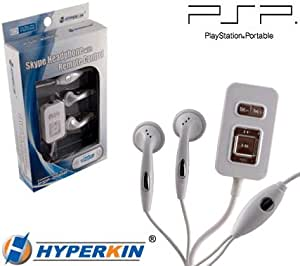 DDR Game Skype Headphones with Remote Control for PSP 3000 and PSP 2000