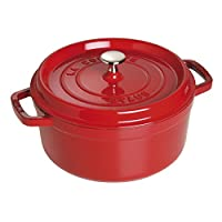Deals on Staub Cast Iron Round Cocott 4-Qt