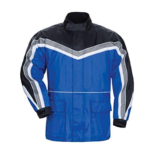 Tourmaster Elite Series II Mens Blue Rainsuit Jacket - X-Small