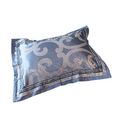 "MKXI Standard/Queen Pillow Shams 26""x20"" Gorgeous Paisley Bedding Collection European Luxury Pillowcases Set of 2 Sateen Cotton"
