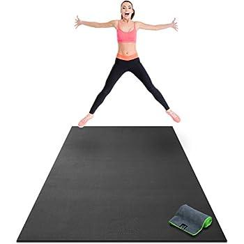 Amazon.com : Premium Large Exercise Mat - 6' x 4' x 1/4