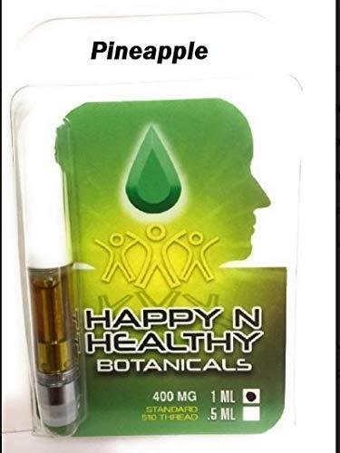 Premium Quality Hemp Oil, 400 mg, 1 ml, Vape Cartridge, 510