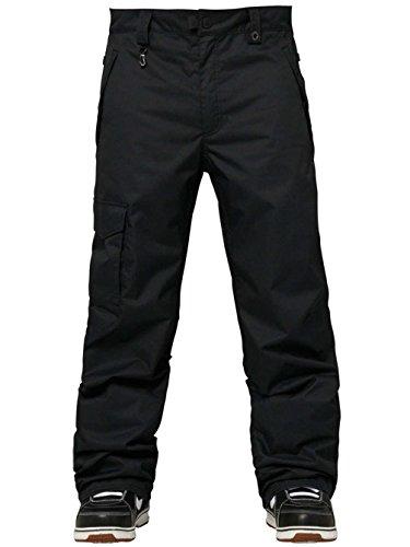 686 Men's Authentic Standard Pant, Black, LG X 32