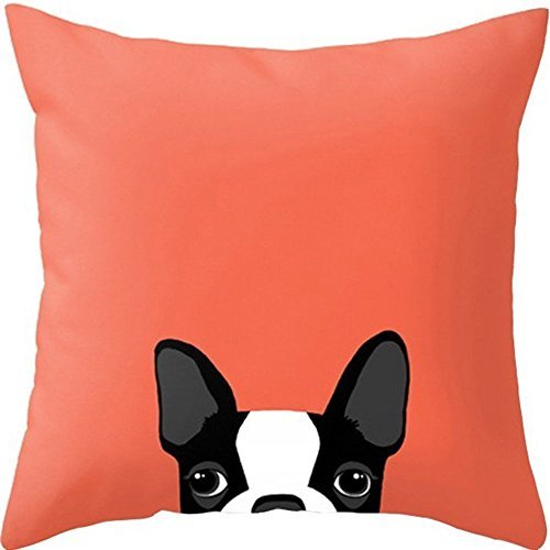 yoler-pillow-case-decorative-cute-puppy-art-outdoor-sofa-cushion-satin-bright-colorful-painting-pill