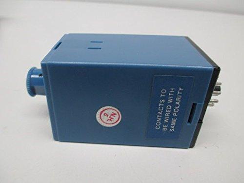 ATC 314B-134-Q-2-C Plug-In Multi-Range Off Delay/Interval TDR, 120 VAC, 50/60 Hz, Off-Delay Mode, Standard