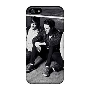 Shock-Absorbing Hard Cell-phone Case For Iphone 5/5s (CbQ15125tfdn) Support Personal Customs Realistic Macbeth Band Image