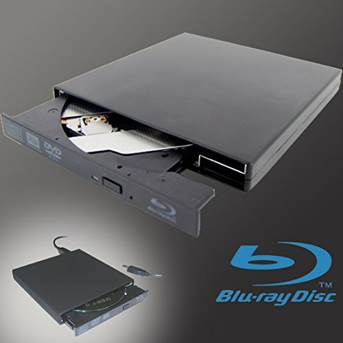 Generic External USB 3.0 UJ141 UJ-141 6x Blu-Ray Combo BDXL Supports QL TL DL SL Bluray 3D Blu-ray Rom DVD Writer