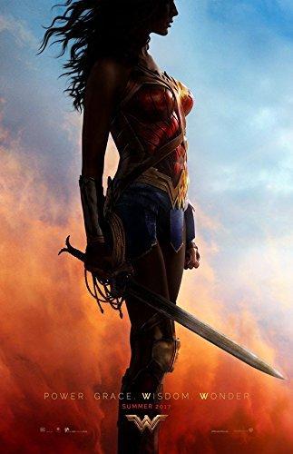"Wonder Woman (2017) Advance - Movie Poster - Size 11""x17"""