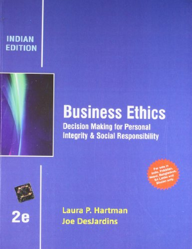 joseph desjardins business ethics book summary Since its inception an introduction to business ethics, by joseph desjardins has been a cutting-edge resource for the business ethics course desjardin's unique.