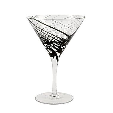 IMPULSE! Marbella Martini, Black, Set of 4