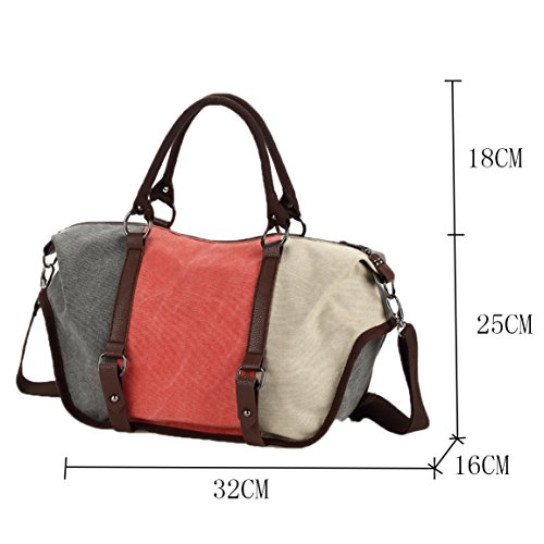 Messenger Bag Hobo Bucket EU Travel Handbag School Bag Women Shouder Unisex Vintage Bag blue Bag Canvas Bag Body Satchel 1060 827 Gurscour Canvas Bags Men's Cross 7qpxF6P
