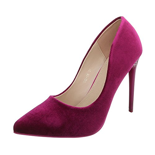 Lila Chaussures Od 16 Compensées Femme Design Ital P1xAqUIP