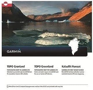 Garmin Topo Groenland topog Rap Vecteur Carte tchèque, Noir, uni GGGM5 #Garmin 010-12367-00